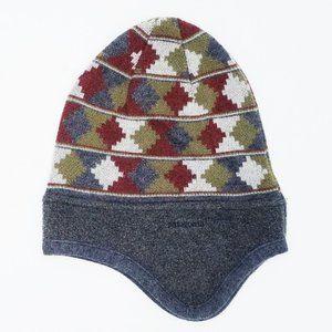 Patagonia Wool Ear Flap Beanie Hat Nordic Unisex